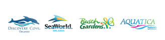 New for 2016! - Unlimited FREE parking at SeaWorld, Aquatica and Busch Gardens logo