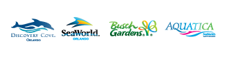 Unlimited FREE parking at SeaWorld, Aquatica and Busch Gardens logo