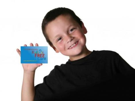 Free Kids Eat Free Cards with Orlando Bookings
