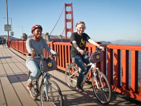 Bay Explorer - San Francisco by Bus, Boat & Bike