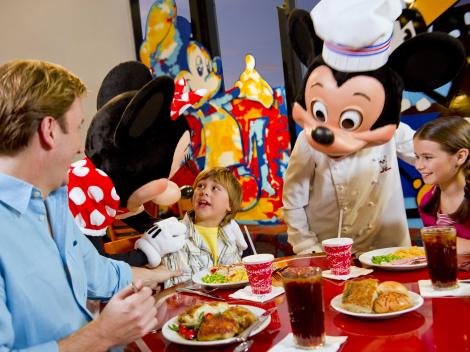 Chef Mickeys VIP Character Dinner