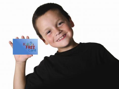 Orlando Kids Eat Free Card