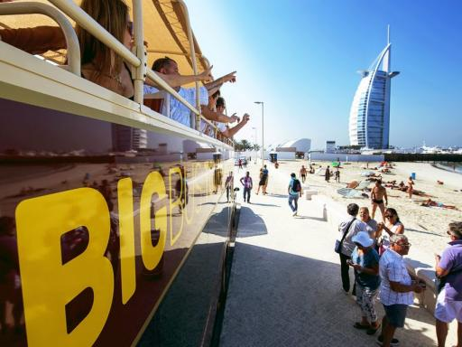 Big Bus Dubai Hop-on Hop-off Tour with Free Dhow Cruise
