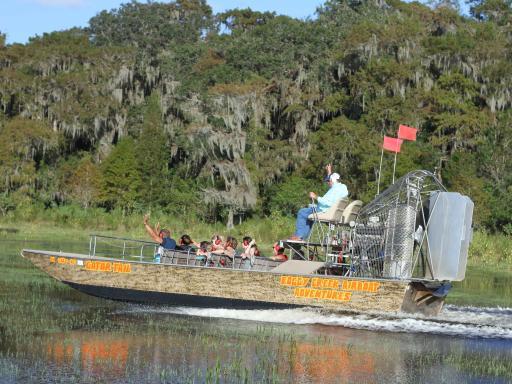 Boggy Creek Orlando Airboat Adventures
