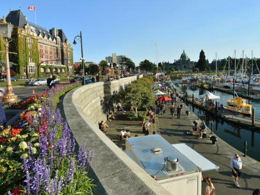 Day trip to victoria and butchart gardens - Butchart gardens tour from victoria ...