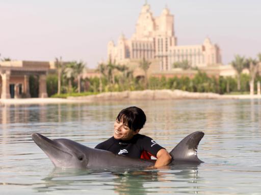 Dolphin Bay at Atlantis The Palm