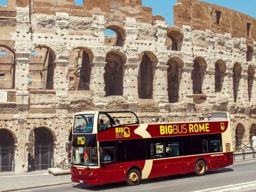 Big Bus HOHO Tour of Rome