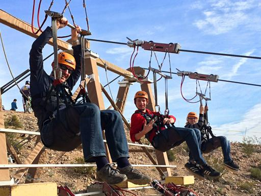 Grand Canyon Helicopter & Bootleg Canyon Zipline Adventure Tour