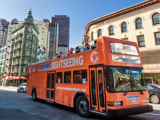 Hop-on Hop-Off Double Decker Bus Tour of San Francisco
