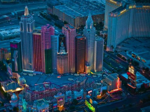Las Vegas Strip Helicopter Night Flight