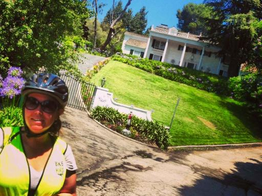 Movie Star Homes Self Guided Bike Tour