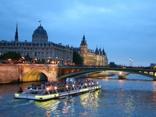 River Seine Cruise and the Paris Illuminations
