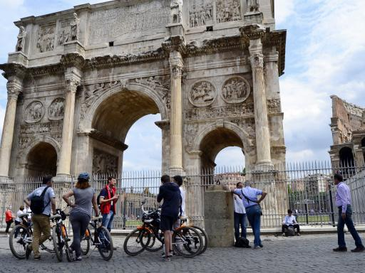Rome Food Tasting by Bike