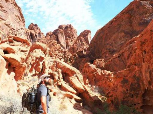 Valley of Fire Hiking Tours