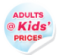 Adults at Kid's Prices Summer Sale - Final Chance!