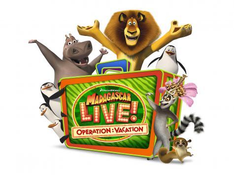 Madagascar Live! Operation: Vacation - Opening June 15 2013