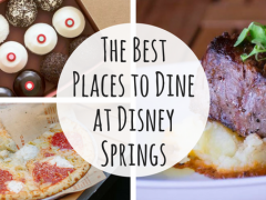 The Best Places to Dine at Disney Springs Top eats at Disney Springs