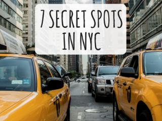 7 Secret Spots in New York City