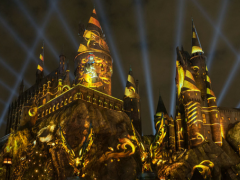 Exciting New Projection Show Launching at The Wizarding World of Harry Potter