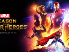 Experience Marvel Season of Super Heroes at Disneyland Paris