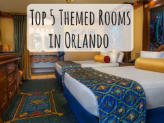 5 of the Best Themed Hotel Rooms in Orlando