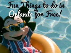 The Best Things to do in Orlando for Free!