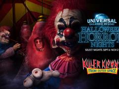 Killer Klowns at Halloween Horror Nights