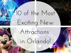 10 Amazing New Attractions to See in Orlando This Year!