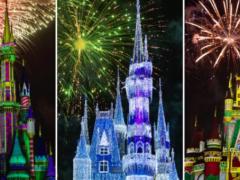 minnie's christmastime fireworks