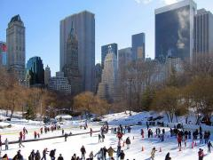 wollman ice rink central park new york city
