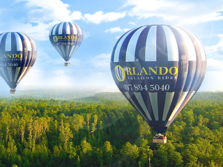Fly over Orlando for just €139