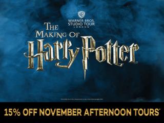 Warner Bros. Studio Tour - The Making of Harry Potter with Return Transportation