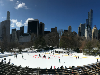 Central Park Ice Skating is Back!