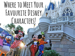 Where to Meet Your Favourite Characters at Walt Disney World