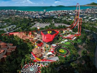 Ferrari Land The Ferrari Land attractions will leave you breathless
