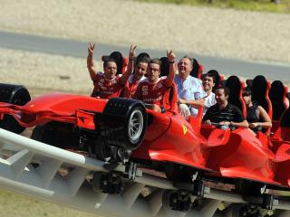 Ferrari World Abu Dhabi Bronze Admission Ticket