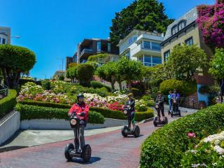 Hills Of San Francisco and Crooked Street Advanced Segway Tour