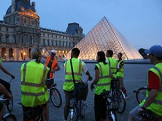 Paris by Night Bike Tour and Cruise