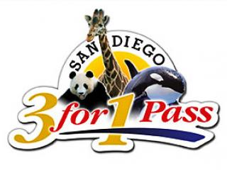San Diego 3 for 1 Pass