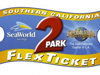 Southern California 2-Park Flexticket