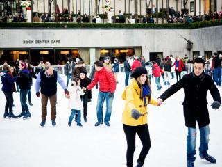 The Rink Rockefeller Center - Dinner and General Admission Skating