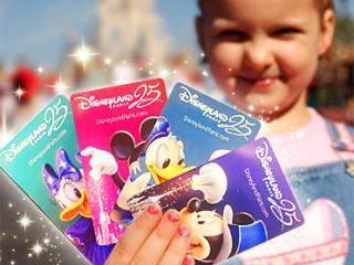 1-Day/2 Parks Disneyland® Paris Hopper Souvenir Ticket