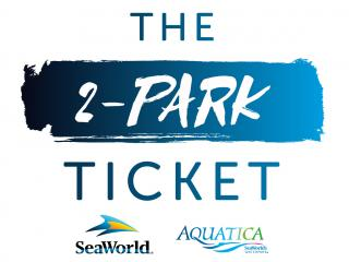 2-Park SeaWorld and Aquatica Ticket