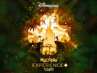 3-Day/2 Park Disneyland® Paris Experience+ Ticket
