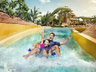 Atlantis Aquaventure One Day Super Pass with Free Lost Chambers Aquarium