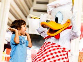 Chef Mickey's Character Dinner with Limousine Transfers