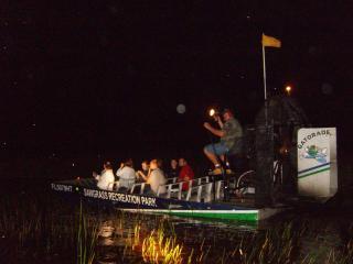 Florida Everglades Night Airboat Adventure