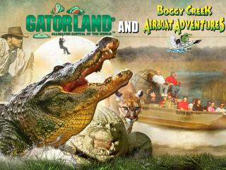 Gatorland and Boggy Creek Airboat Combo Ticket