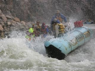 Helicopter and White Water Rafting Adventure