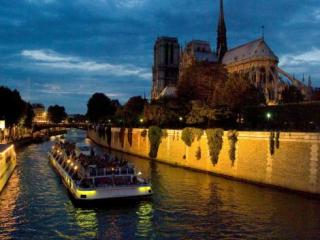 River Seine Sightseeing Cruise and the Paris Illuminations